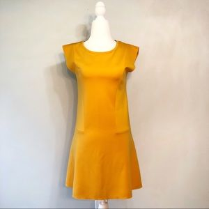 Yellow Stretch Dress